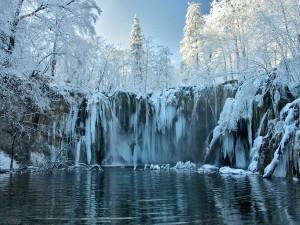 Plitvička Jezera zima