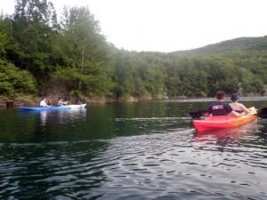 Kayak safari na rijeci Lici